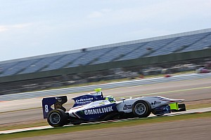 GP3 Qualifying report Jimmy Eriksson takes first pole in wet Silverstone