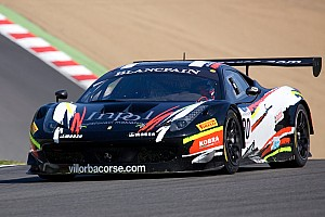 Blancpain Sprint Race report Aquaplaning cost Salaquarda both races in Zandvoort