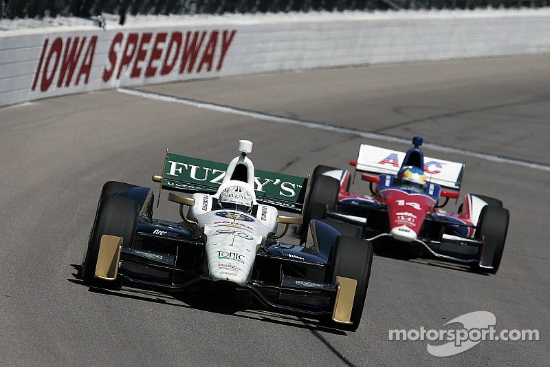 Kanaan and Carpenter are hoping for some more success at Iowa this weekend