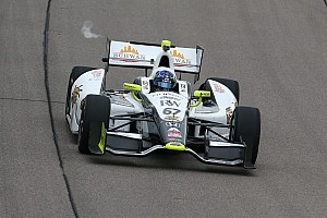 IndyCar Race report Breakthrough night for Newgarden in Iowa