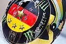 Rosberg changes helmet after FIFA ban