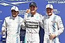 Rosberg leads Williams duo in German GP qualifying