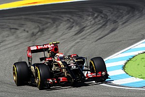 Formula 1 Qualifying report Difficult qualifying for Lotus at the Hockenheimring