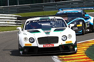 Blancpain Endurance Stage report Challenging first six hours for M-Sport Bentley at Spa