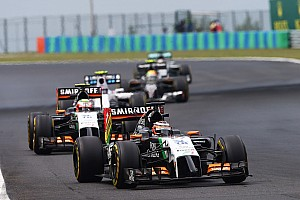Formula 1 Race report Hungarian GP: First race in 2014 without points for Sahara Force India