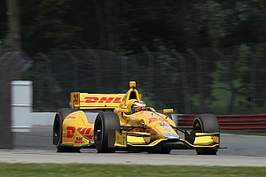 IndyCar Practice report Hunter-Reay fastest man in Ohio