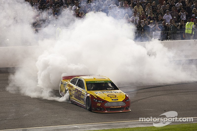 Joey Logano has blossomed with Team Penske