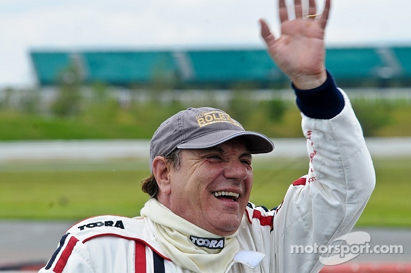 AC/DC star Brian Johnson rocks Croft Nostalgia Weekend