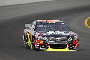 Gordon reached a career milestone at Pocono