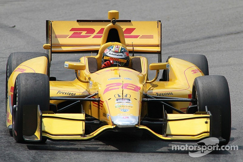 Hunter-Reay seeks more magic at The Mile