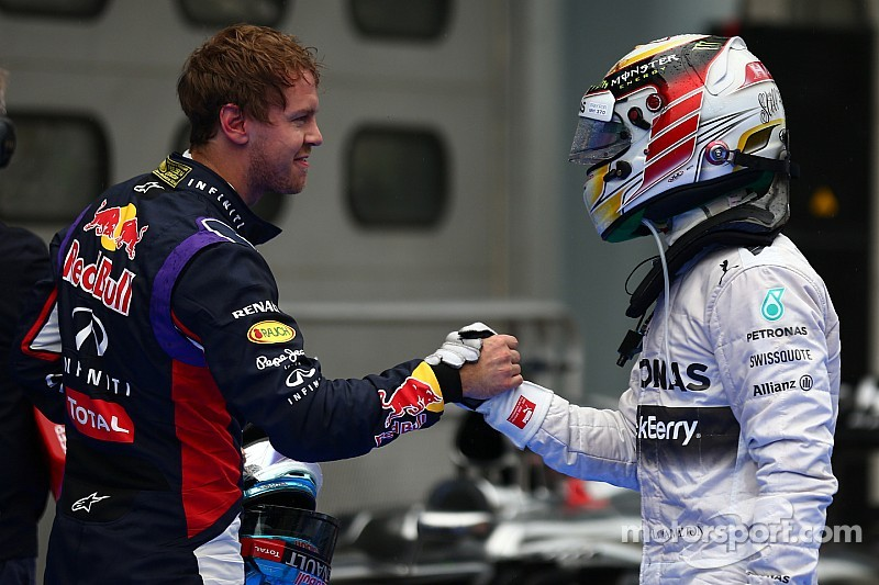 A swap of two Formula One superstars?