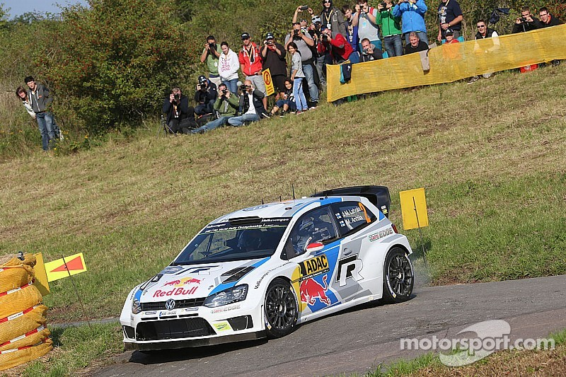 Latvala leads Rally Germany as Ogier crashes