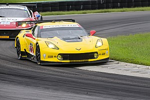 TUSC Breaking news No. 3 Corvette and No. 911 Porsche suffer heavy damage at VIR