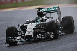 Formula 1 Qualifying report Pirelli: Rosberg claims pole position for MercedeS with intermediate