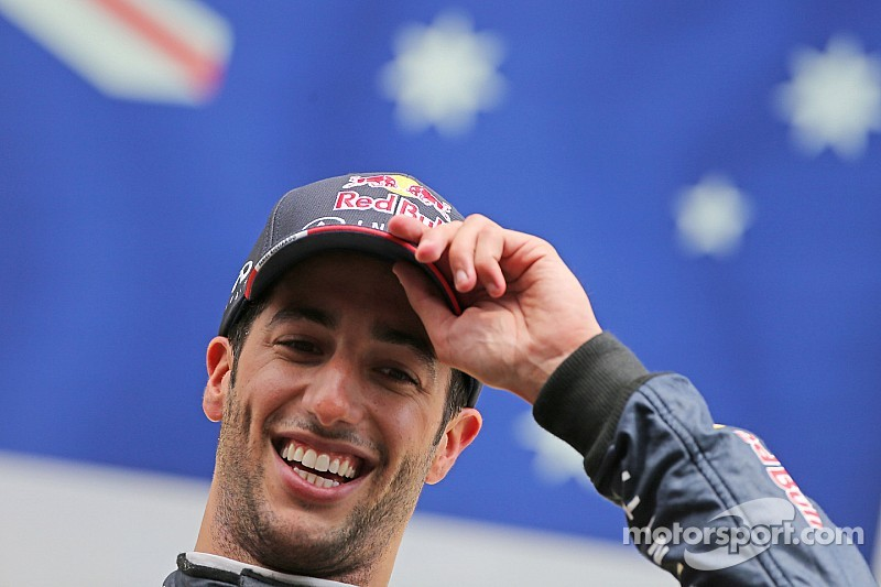 Ricciardo wins battle at Spa for Red Bull 50th F1 victory