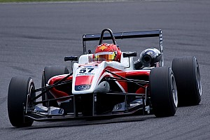 BF3 Qualifying report Ferrucci and Cao share poles at Brands Hatch