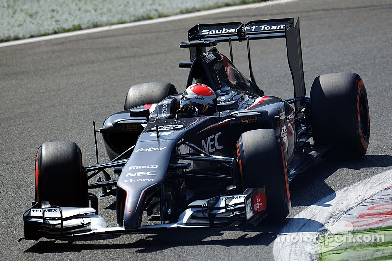 Sutil and Gutiérrez came in 15th and 16th in qualifying for the Italian GP