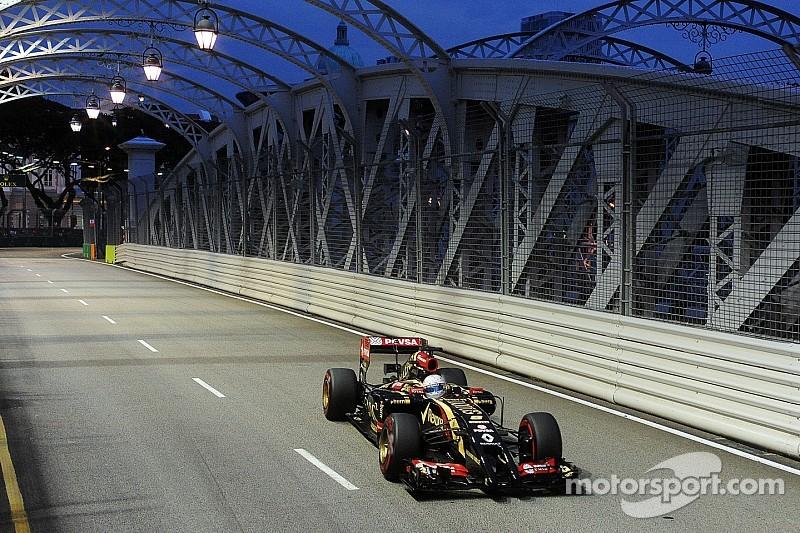 Grosjean slams Renault in Singapore qualifying