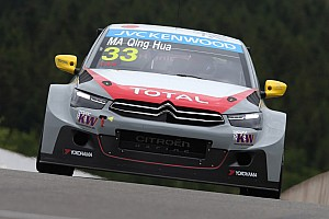 Ma Qing Hua prepares for home race