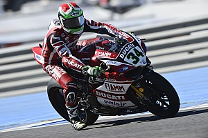 Ducati Superbike Team conclude day one of practice at Magny-Cours in first position