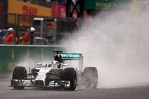 Mercedes scores the team's eighth 1-2 finish of the year
