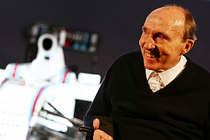Formula 1 Breaking news Sir Frank Williams to receive Bernie Ecclestone Award