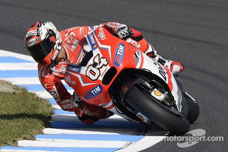 Dominant Dovizioso sets the pace on the opening day at Motegi