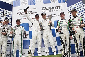 GT Race report Three teams, two points and a GT Asia Series crown in the balance