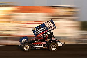Sprint Race report Rico Abreu beats Blaney at Eldora