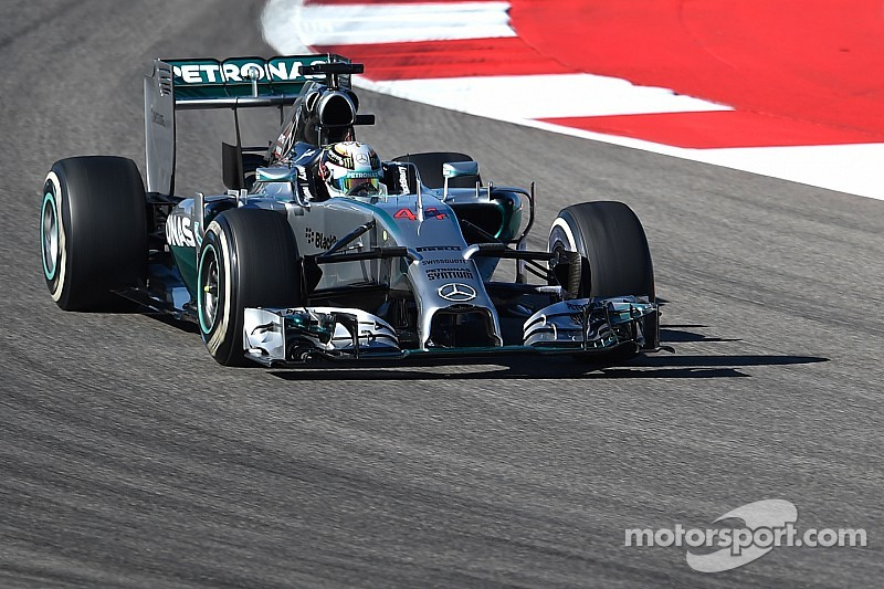 United States GP practice 2 results: Mercedes on top once again