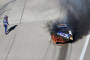 Tough day for Trevor Bayne