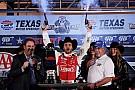 Johnson wins at Texas as massive brawl ensues in pits