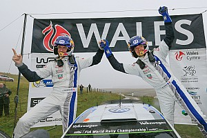 Ogier signs off 2014 with win #8