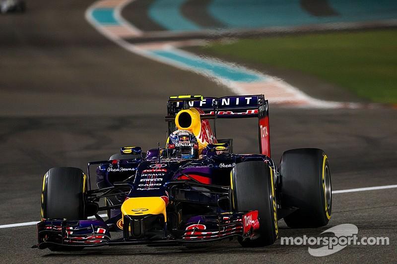 Ricciardo 5th, Vettel 6th on qualifying for tomorrow's Abu Dhabi GP