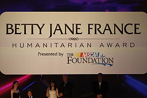 NASCAR Special feature Daniel Noltemeyer wins Betty Jane France Humanitarian Award