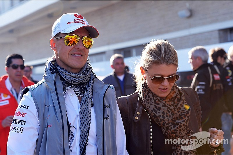 Schumi 'reacting to external  stimuli,' cries at sound of family - report