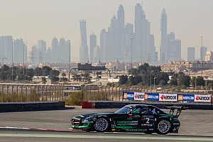 Endurance Race report Mercedes muscle to the front early in 24 Hours of Dubai