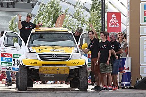 Dakar Stage report The ALDO Racing Team secures 32nd place overall at the 2015 Dakar