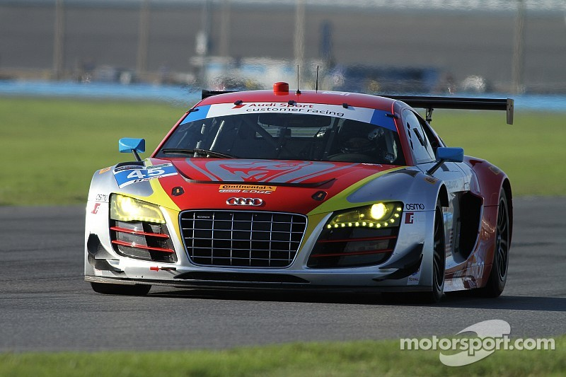 Season starts for Audi at Daytona