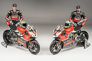 Ducati Superbike Team presented today in Arezzo