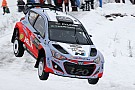 Neuville grabs shock Rally Sweden lead for Hyundai