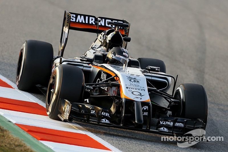 A solid second day of testing in Barcelona for Sahara Force India