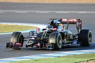 Lotus enjoys a solid first test in Barcelona
