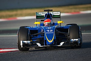 Formula 1 Testing report A productive half day for Sauber in Barcelona