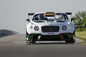 PWC Vista previa Dyson Racing listo con el Bentley para el Pirelli World Challenge