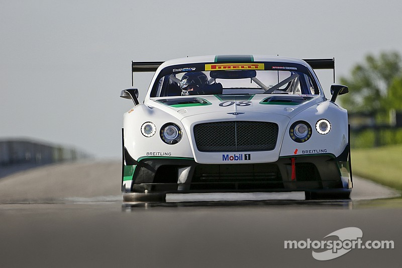 Dyson Racing listo con el Bentley para el Pirelli World Challenge