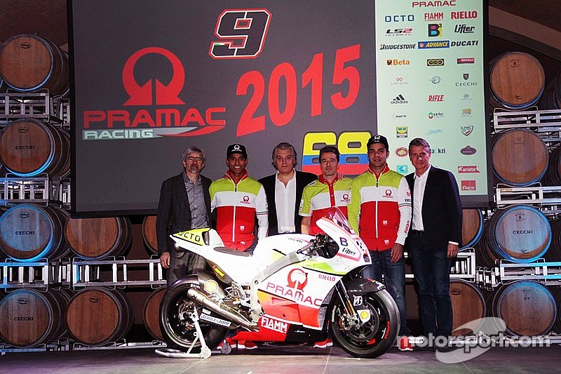 Pramac launches 2015 MotoGP campaign