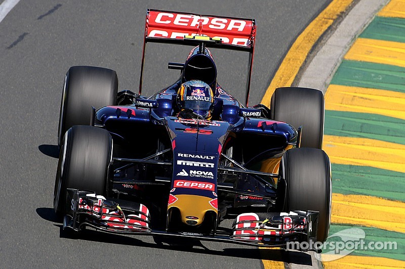 Toro Rosso struggles with power in Melbourne