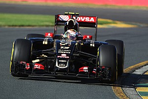 Lotus is all top ten on Friday practice at Albert Park