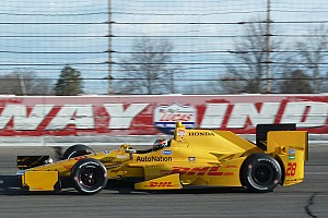 Great names combine as Brabham tests Andretti IndyCar
